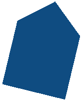 Haus-Icon dunkelblau.