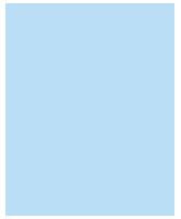 Haus-Icon hellblau